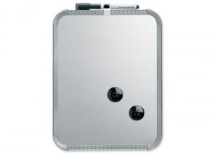 , Whiteboard Nobo Slim Line 22x28cm zilver