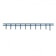 , Surebindstrip GBC 25mm 10-pins blauw