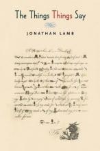 Lamb, Jonathan The Things Things Say