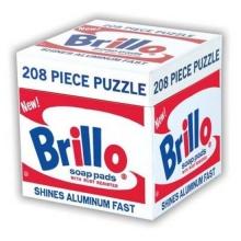 Mudpuppy Andy Warhol Brillo Puzzle 208 Pieces