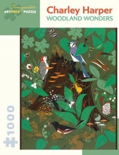 Charley Harper Woodland Wonders 1000-Piece Jigsaw Puzzle  Aa