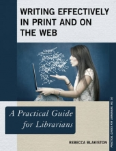 Rebecca Blakiston Writing Effectively in Print and on the Web
