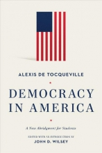 Tocqueville, Alexis de Democracy in America