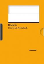 Reclams Universal-Notizbuch (orange)