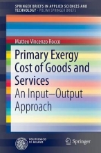 Rocco, Matteo Vincenzo Primary Exergy Cost of Goods and Services