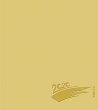 Foto-Malen-Basteln Bastelkalender gold 2020