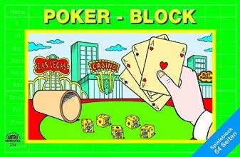 Pokerblock (für Würfelpoker)