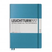 Lt354756 Leuchtturm notitieboek master slim a4 lijn nordic blauw