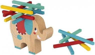 Mos-38065 , Balansspel olifant hout