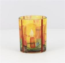 , Glazen licht maria laach met verschillende printen