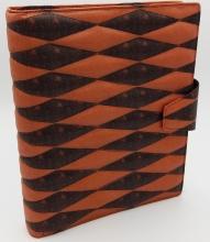 Pe254sk12 , Succes omslag a5 snake rood 25 mm ring