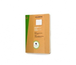 Extra Large Squared Kraft Soft Evernote Journal With Smart S
