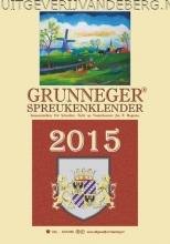 Schreiber, Fr Grunneger spreukenklender / 2016