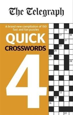 Telegraph Media Group Ltd,The Telegraph Quick Crosswords 4