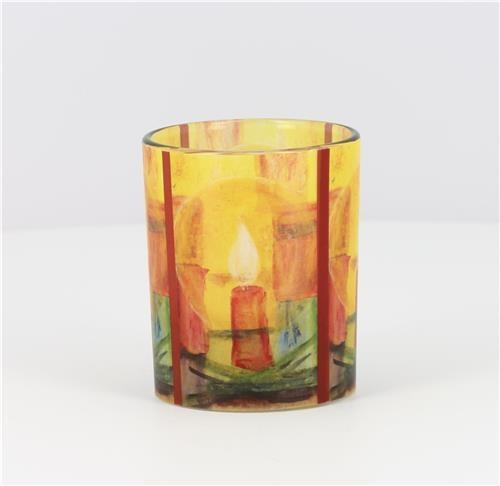 ,Glazen licht maria laach met verschillende printen