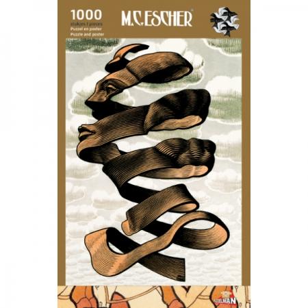 Puz-855,Puzzel omhulsel - m.c. escher - 1000 stukjes