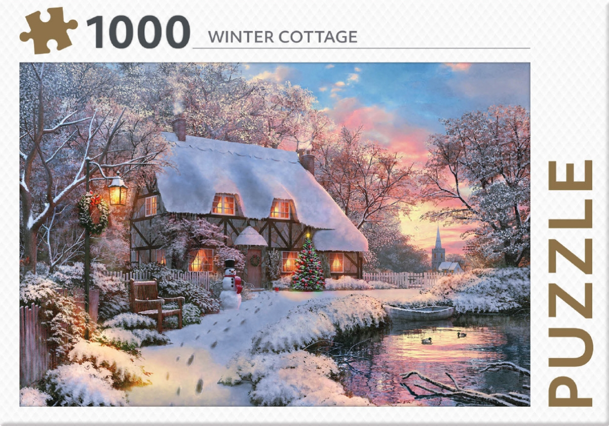 ,Winter Cottage - puzzel 1000 st