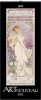 Art Nouveau 2021, Kunstkalender mit Jugendstilplakaten der Belle Époque. Wandkalender im Hochformat: 28,5 x 69 cm, Foliendeckblatt
