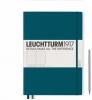 ,<b>Leuchtturm notitieboek master slim a4 dots/puntjes pacific</b>