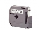 , Lettertape Brother P-Touch Mk231 12mm Zwart/Wit