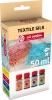 ,<b>Talens art creation textile silk 4x50 ml div kleuren</b>