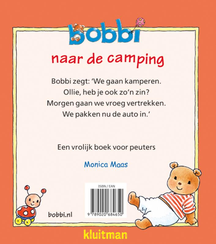Monica Maas,Bobbi naar de camping