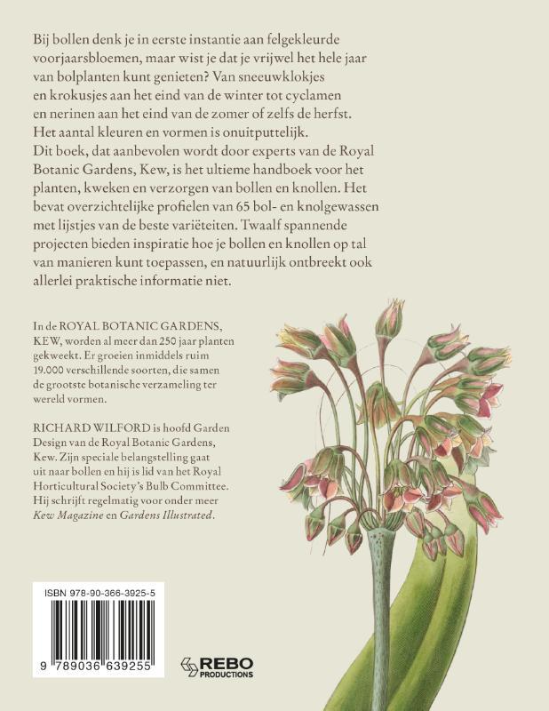 Richard Wilford,De Kew Gardener`s gids voor Bollen & Knollen
