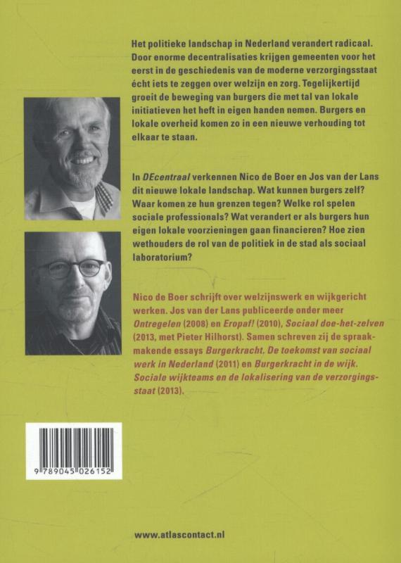 Jos van der Lans, Nico de Boer,DEcentraal