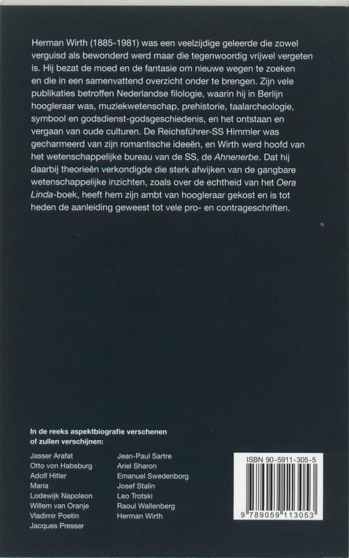 Aat van Gilst,Herman Wirth