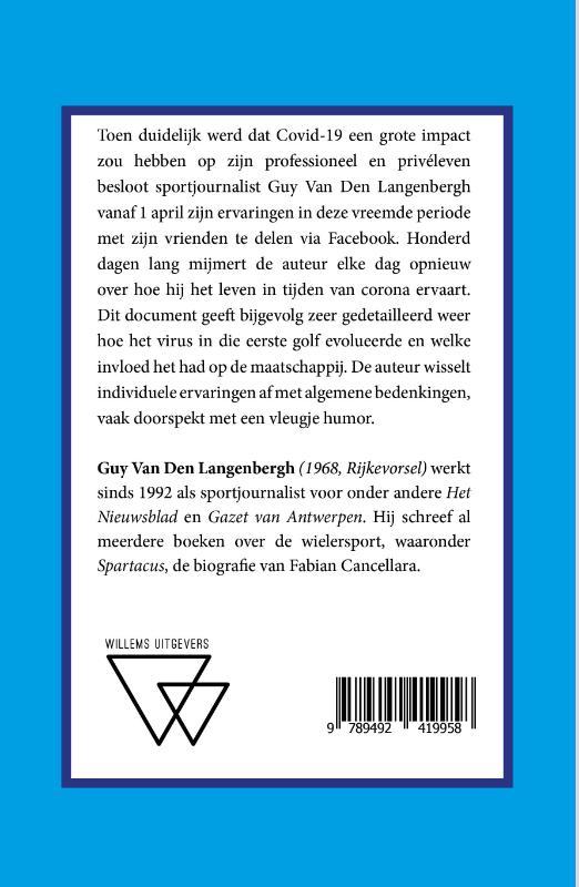 Guy Van Den Langenbergh,Corona in 100 mijmeringen