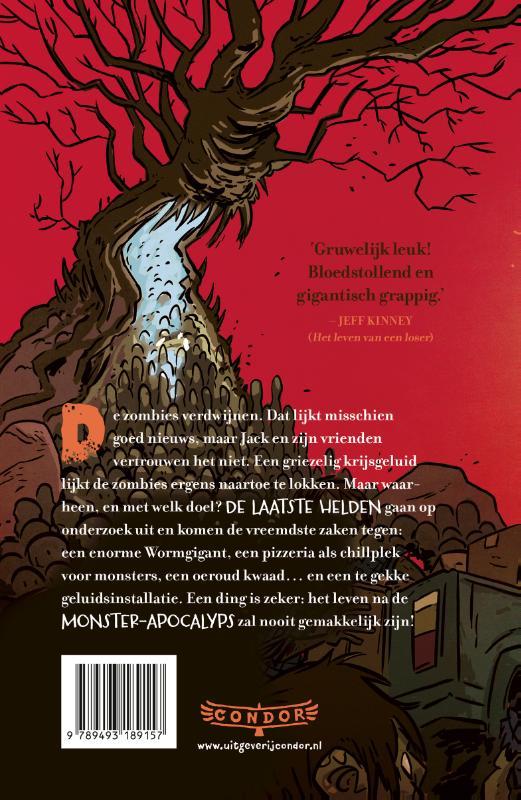 Max Brallier,De laatste helden op aarde en de zombiehorde