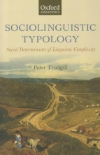 Trudgill, Peter Sociolinguistic Typology
