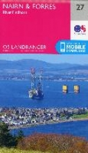 Ordnance Survey Nairn & Forres, River Findhorn