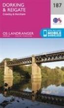 Ordnance Survey Dorking, Reigate & Crawley
