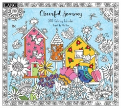 Cheerful Journey 2017 Coloring Calendar