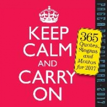 Workman Publishing Keep Calm and Carry on Page-A-Day Calendar 2017