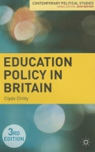 Clyde Chitty Education Policy in Britain