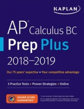 Kaplan Test Prep AP Calculus AB & BC Prep Plus 2019-2020