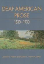 Nelson, Jennifer L. Deaf American Prose, 1830-1930