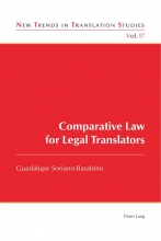 Guadalupe Soriano-Barabino Comparative Law for Legal Translators
