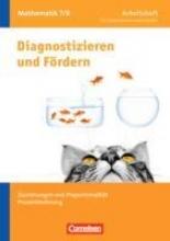 Diagnostizieren und Fördern in Mathematik 7./8. Schuljahr - Arbeitsheft - Allgemeine Ausgabe