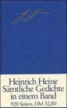 Heine, Heinrich Sämtliche Gedichte in zeitlicher Folge