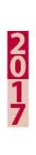 Streifenplaner Compact rot 2017