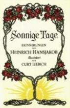 Hansjakob, Heinrich Sonnige Tage
