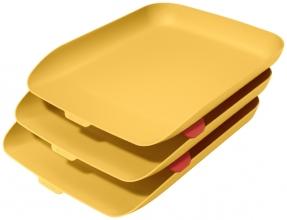 , Brievenbak Leitz Cosy 3 stuks geel