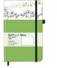 Soft Touch Silhouettes Dandelion 2017 Diary klein