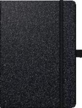 Buchkalender Kompagnon 2018 schwarz. 1 Seite = 1 Tag, 143 x 202 mm