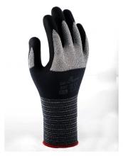 , Handschoen Showa 381 grip nitril M grijs