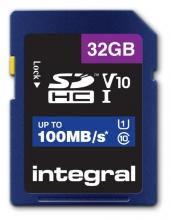 , Geheugenkaart Integral SDHC V10 32GB