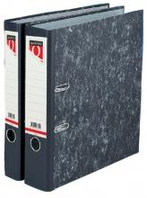, Ordner Quantore A4 80mm karton gewolkt